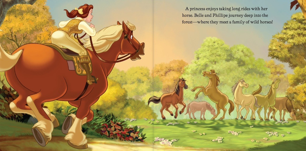 Image Disney Princess A Horse To Love Belle 3 Jpg