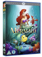 The Little Mermaid 2013 UK DVD