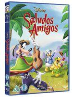 Saludos Amigos UK DVD 2014