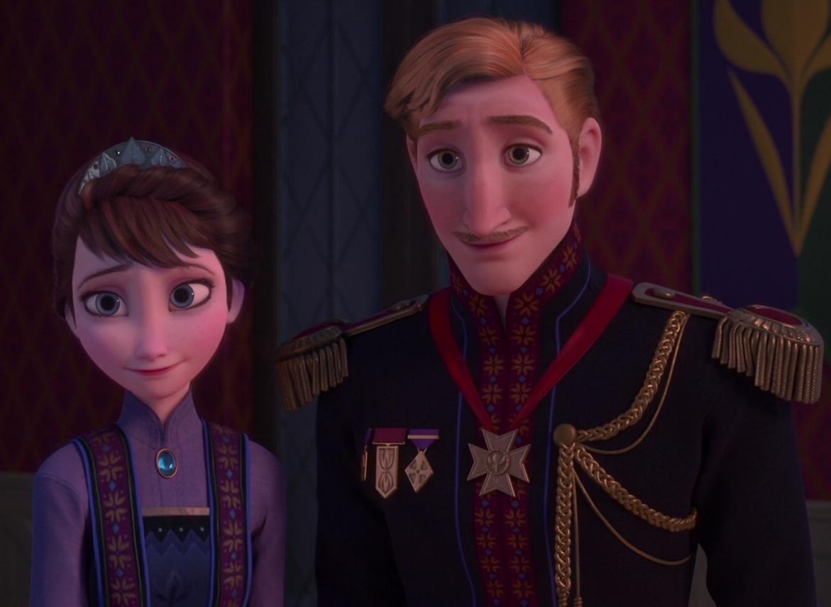 King Agnarr and Queen Iduna | Disney Wiki | Fandom powered ...