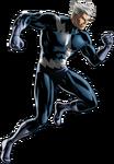 Blue Costume Quicksilver Portrait Art