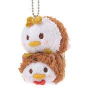 Donald and Daisy Tsum Tsum Keychain