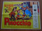 Pinocchio british poster