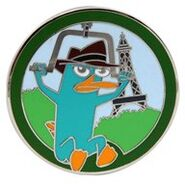 WDW - Agent P's World Showcase Adventure Mystery Collection - Agent P France ONLY