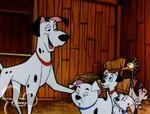 Pongo and Perdita in 101 Dalmatians TV series 8