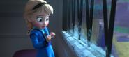 Young Elsa afraid