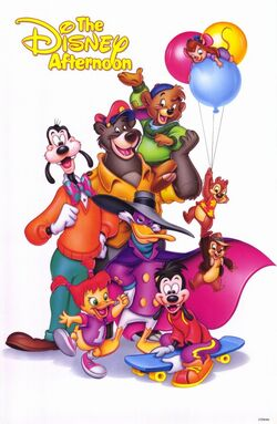 Disney afternoon poster
