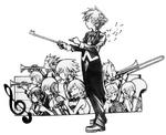 Kingdom Hearts First Breath Concert Artwork