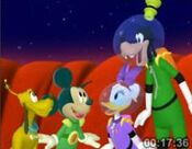 Martain Mickey and Pluto 4