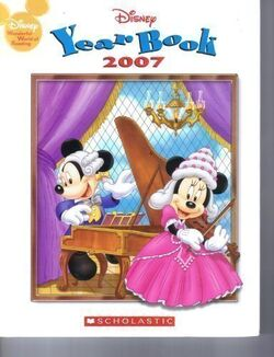 Disney yearbook 2007
