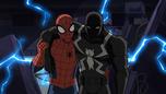 Spider-Man carrying Agent Venom USMWW