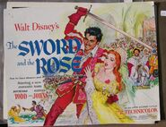 The sword and the rose lobby cards