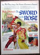 The sword and the rose movie ad