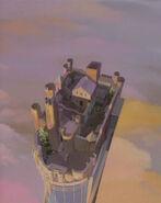 CastleWyvernSky