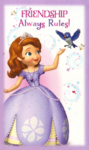 Sofia the first valentine 1
