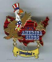 America Sings Pin