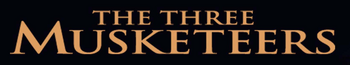 Disney's The Three Musketeers - 1993 Film Logo with Black Background