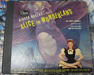 Alice in wonderland with ginger rogers