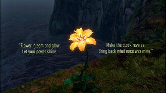 Magical Golden Flower