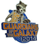 Guardians of the Galaxy 2014 Rocket Pin