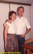 Howard and his sister Sarah