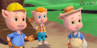 Three Little Pigs (Goldie & Bear)
