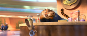 Judy and Clawhauser