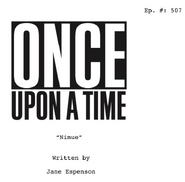 Once Upon a Time - 5x07 - Nimue - Script Cover