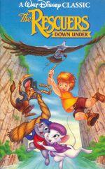 RescuersDownUnder1991VHS