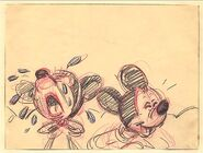 Disney's Mickey Mouse - The Nifty Nineties - Storyboard - 6 - Detail