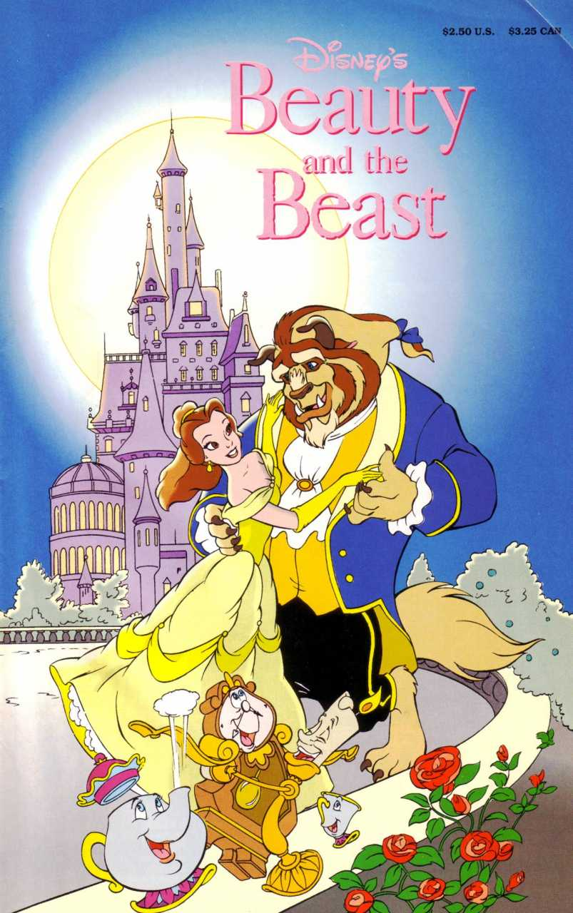 Beauty And The Beast Official Comic Adaptation Disney