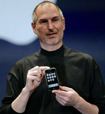 File:Steve Jobs with an iPhone.jpg
