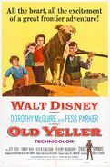 Old Yeller Poster