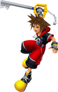 Sora (Battle) KH3D