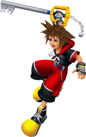 File:Sora (Battle) KH3D.png