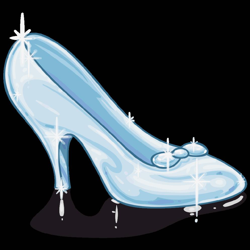 Scarpetta di cristallo disney wiki fandom powered by wikia for Glass slipper coloring page