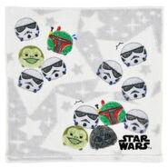 Star Wars Tsum Tsum Gray Towel
