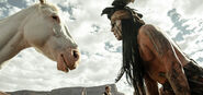 Tonto talks to Horse