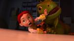 Jessie fighting with Mr. Jones