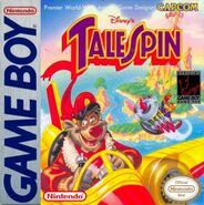 TaleSpin Game Boy Cover