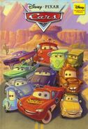 Cars disney wonderful world of reading hachette partworks