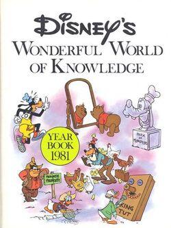Disneys wonderful world of knowledge year book 1981