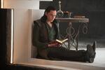 Loki reading book TDW