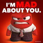 He's mad