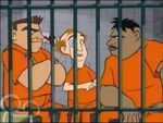 Professor Rotwood is lockup in jail his Cellmates