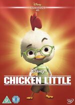 Chicken Little UK DVD 2014 Limited Edition slip cover