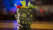 Shrunken Head Zombie Cocktail