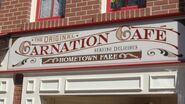 CarnationCafe Building Sign