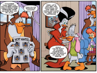 Darkwing's wanted