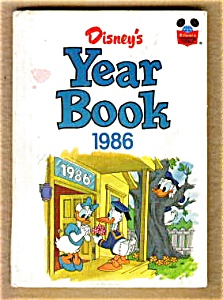 Disney yearbook 1986